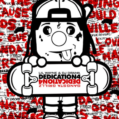"Lil Wayne Unveils ""Dedication 4"" Mixtape Cover Art Work"