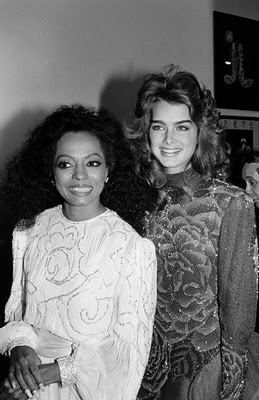 Random Fabulousness: Diana Ross & Brooke Shields.