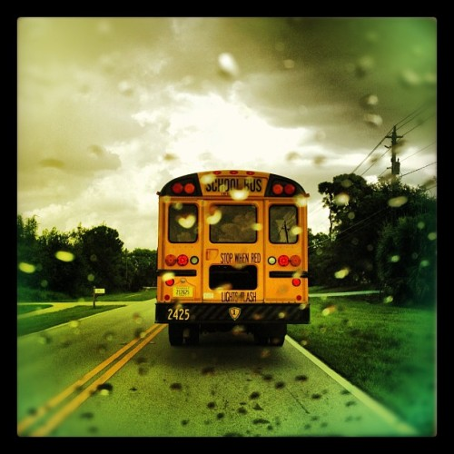 Stop when red #backtoschool (Taken with Instagram)