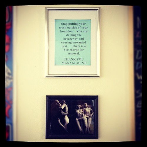 New frames for the apartment!!! (Taken with Instagram at Nefty's Place)