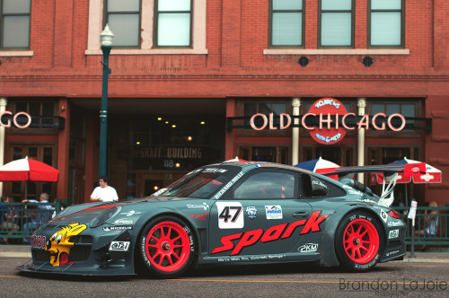 Big boys' toy Starring: Porsche 911 GT3 (by B.LaJoie Photography)