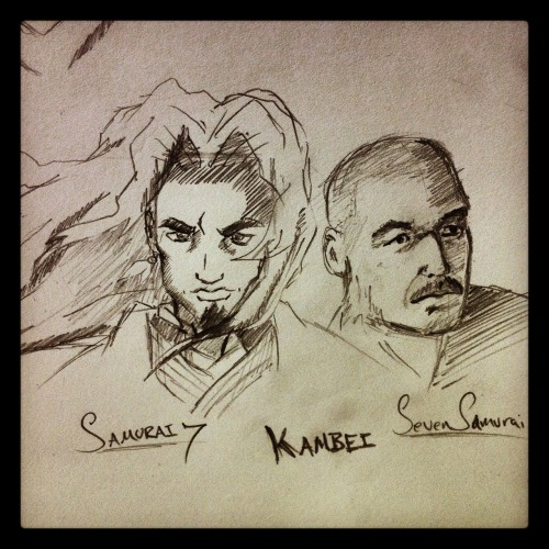 Samurai 7 meets Sven Samurai…. KAMBEI….. one of my faves!!!