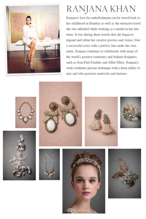 BHLDN.com does such a divine job detailing their designers on their site - so happy with my page! Check out the exclusive bridal pieces I've done for them xx, RK