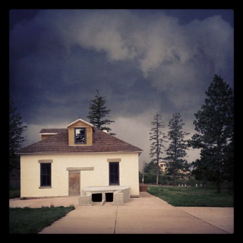 The storm approaches… (Taken with Instagram)