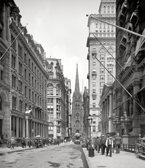 lostsplendor:  Lower Manhattan, 1903 (via)