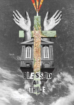 "hillsongs:  Poster for Hillsong's worship song ""Blessed"" from 2002."