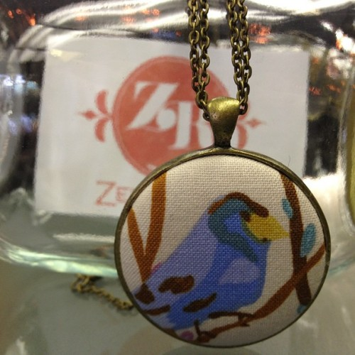 Putba bird on it #handmade necklace by @zelmarose #fashion #jewelry - only $35  (Taken with Instagram)