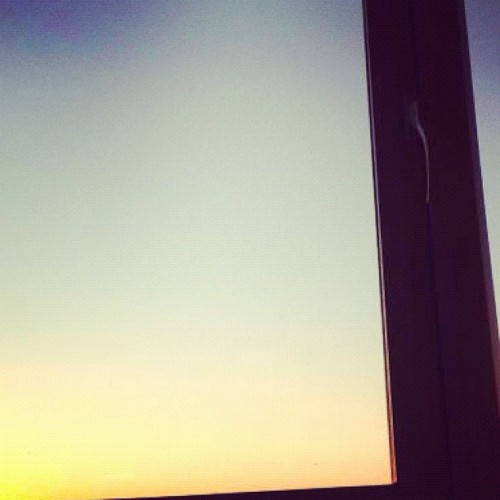 Sunrise. (Taken with Instagram)