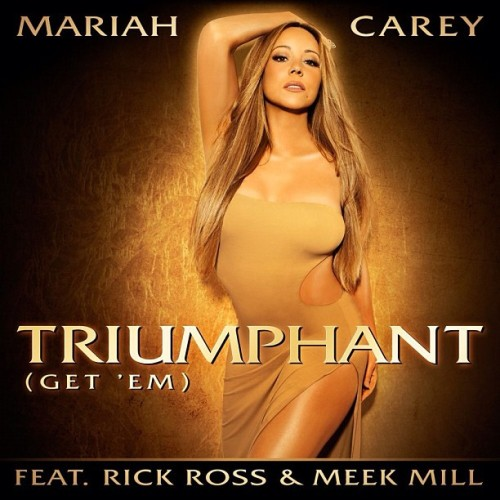 Check out a preview of Mariah Carey's new video for her flop single Triumphant featuring Rick Ross and Meek Mill. Watch:  *puts the Butterfly CD on and acts like none of this is happening…*