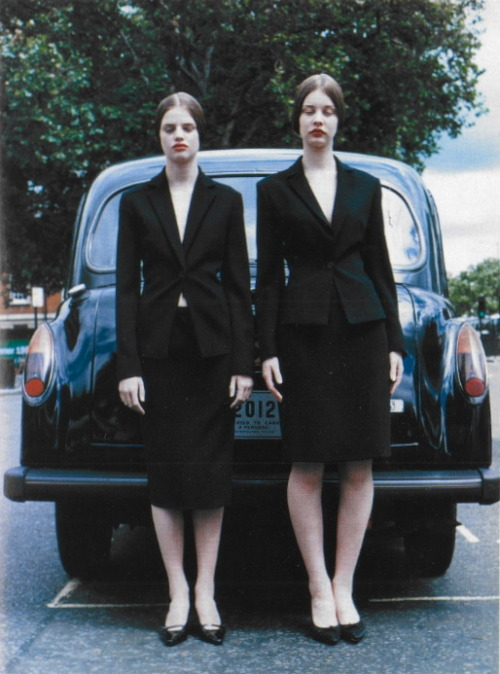 witchesandslippersandhoods:  Amateur Photography in London by Tim Walker, Vogue Italia October 1998 'Wait until your subject is ready'