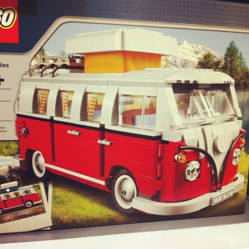 LEGO VW van (Taken with Instagram)