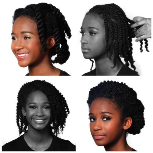 allthingshairr:  Video tutorial close to the look on the bottom right here