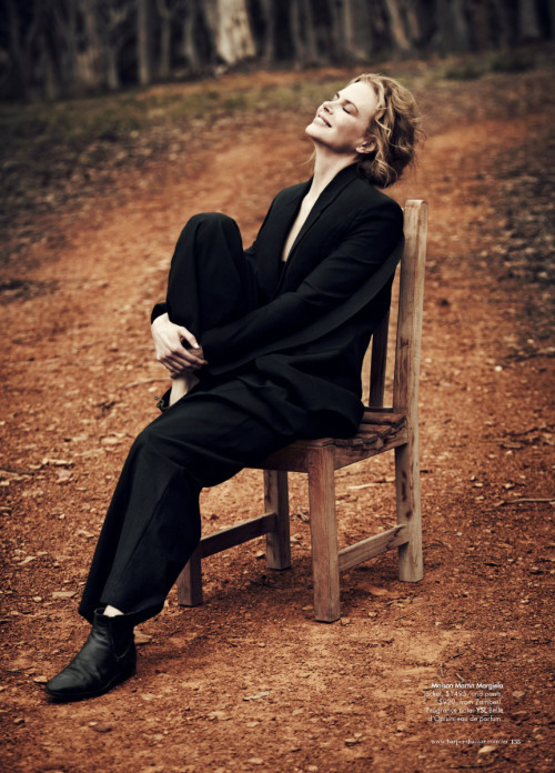 Nicole Kidman by Will Davidson for Harper's Bazaar Australia (June-July 2012).
