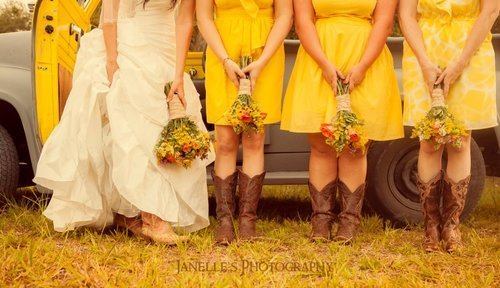 what my girls will wear at my wedding <3
