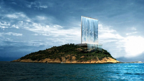 Clean Energy Future: 'Artificial Waterfall Could Make 2016 The Greenest Olympic Games We've Seen Yet'From The Creators Project:  'As Brazil readies itself for the upcoming 2014 World Cup, the honor and burden of hosting an even larger global sporting event still sits on the country's shoulders. In conjunction with the 2016 Olympics in Rio de Janeiro, several new structures will be erected in Rio's cityscape. One of the many projects creating huge buzz is the Solar City Tower, an artificial waterfall designed to generate clean, renewable energy. … The vertical structure's design is conducive to multiple functions: its primary purpose is to capture and distribute solar power to the Olympic Village and to the city, but it doubles as an observation tower. The 345-foot structure will have solar panels around its base, used to store energy during the day, releasing it through turbines for use at night. For special occasions, the turbine will pump seawater into the tower and then shoot it back out to sea, creating a waterfall effect in the middle of the ocean.  Check out more pictures and the rest of the article here.