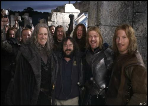 The Men of Gondor and a Halfling