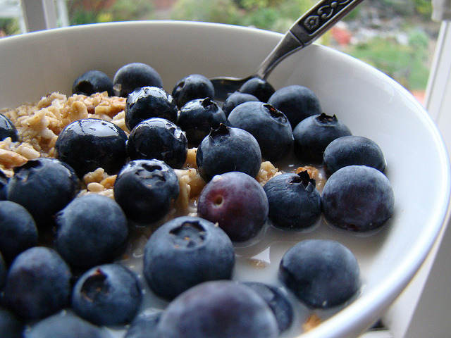 Granola with Blueberries by Vegan Feast Catering on Flickr.