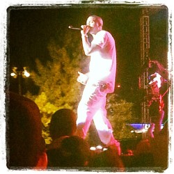 Nas at #rockthebells2012  (Taken with Instagram)