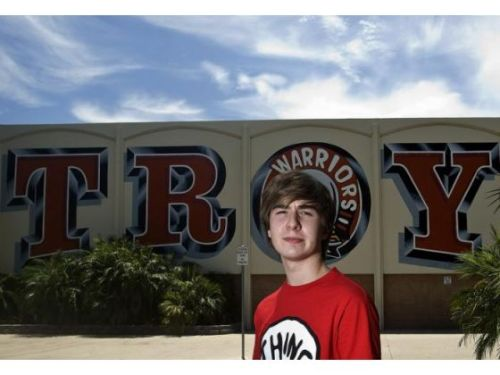 "Orange County Register:  Two students who were declared the winners of Troy High School's top student political offices in April will not assume their posts this fall, after one of the candidates broke into a school database and discovered the election was rigged by the school's ASB faculty adviser. Troy High School senior Jacob Bigham, 17, was suspended for five days last spring after he broke into his Fullerton school's student database to prove that the school's student body adviser hand-picked the candidates she wanted for Associated Student Body president and vice president. Bigham of Buena Park got the most votes running as ASB vice president, but was permanently removed from ASB as punishment for breaking into the Troy database. Jenny Redmond, a Troy special-education teacher, has resigned as ASB adviser. Troy senior Jacob Bigham, who revealed that the candidates named ASB president and ASB vice president weren't the top vote-getters, received a five-day suspension and was stripped of his ASB office, he said. The actual winner of the Associated Student Body presidency, senior Ryan Daliwal, will assume Troy's top student post when school begins Aug. 27. Bigham, who ran for and won the ASB vice presidency, will not be allowed to take office; second-place finisher Taylor Kang will be ASB vice president for 2012-13.  Update:  On Tuesday, the superintendent confirmed Bigham would face no further discipline in the matter, including for a disparaging text message he sent to Redmond in April in which he criticized her ""blatant disregard for others' opinions"" and suggested she still had ""a few more nails to hammer into the coffin of logic.""  Someone get this kid a job in journalism, we need him."