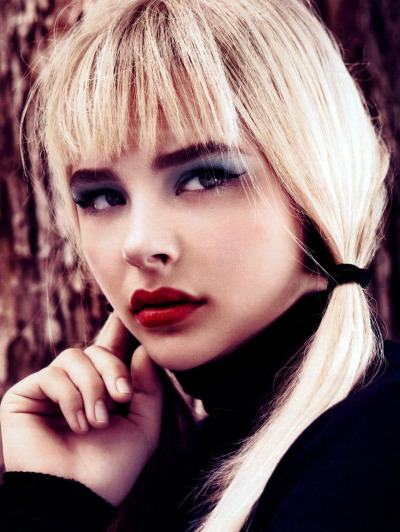 Chloe Moretz for  InStyle [Sept 2012]