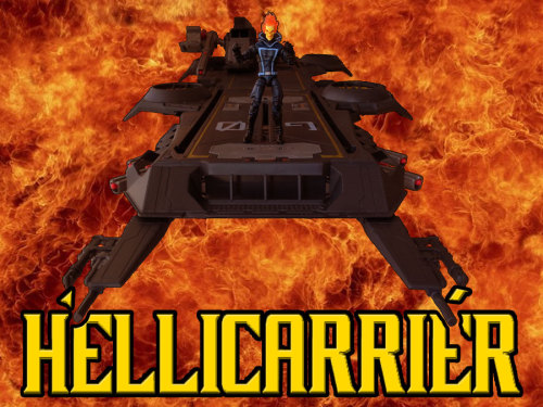 Because nobody asked… The SHIELD HELLicarrier!!!!!!!!