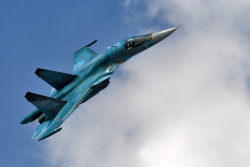 Sukhoi Su-34 a.k.a. Fullback  As beautiful as it can get.