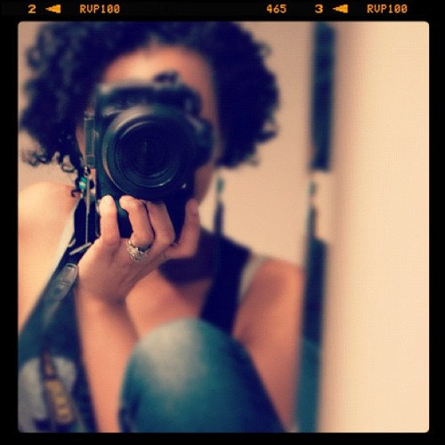 Nikon & I (Taken with Instagram)