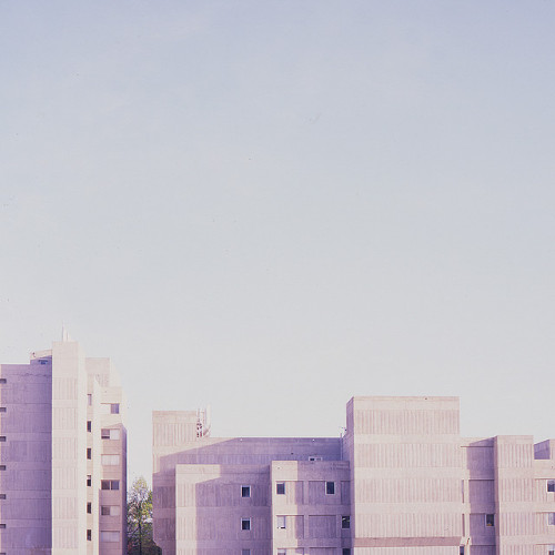subdued-light:  And in the background a multitude of buildings, by planbattack on Flickr.