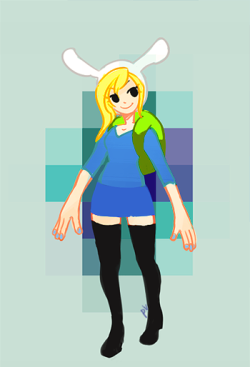 sup adventure time fandom i bring you fionna with yaoi hands  later