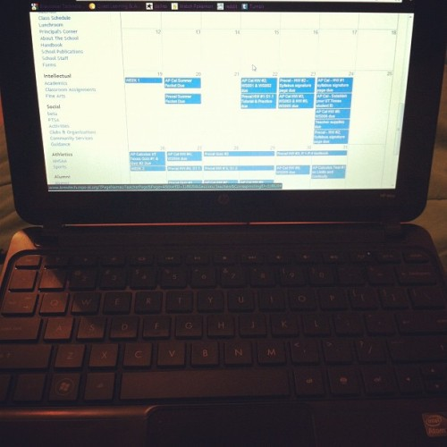 Back to school… #fml (Taken with Instagram)