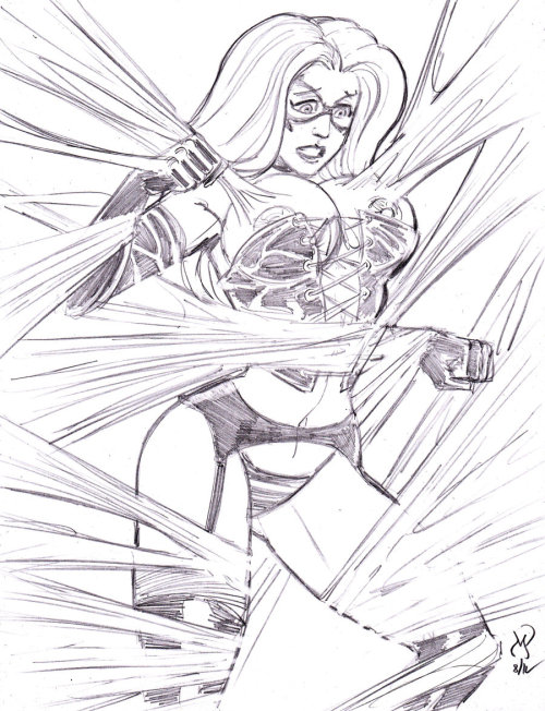 5 for $55 Special: Webbed-Up (Black Cat) by *MichaelPowellArt