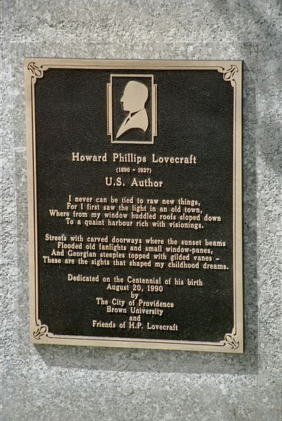Happy birthday, H.P. Lovecraft!  You know what I'm not celebrating with? Ice cream and baked beans.