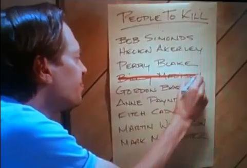 I love PEOPLE TO KILL lists!