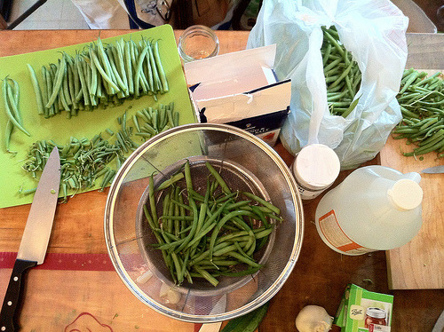 This is basically a canning blog now. Sorry.* I made dilly beans with Kate. I first made dilly beans a year or two ago, and I made the mistake of giving them to friends and family. My friends and family reacted to the dilly beans the way meth heads react to the free sample of meth.** So now I make dilly beans every year.  * Also, given The Peach Situation, it's going to get worse before it gets better.  ** I don't have any real-life experience here to back up that analogy except that I remember being warned at some point in school (by whom?) about the first hit being free and then you're ADDICTED!