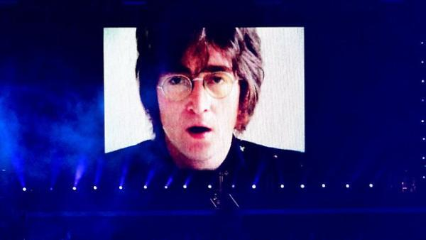 "John Lennon, Olympics 2012  ""I've always considered my work one piece and I consider that my work won't be finished until I am dead and buried and I hope that's a long, long time.""- 1980"