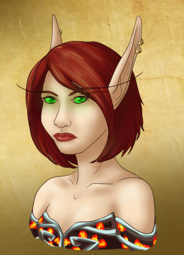 these-roles-i-play:  segolily:  Another Wynfor commission, her bloodelf, Folami! :)  Annnnnd Folami. I legit want to cry right now (happy tears, of course!).  I've played her for over a year and always wished I could have a picture of her.  She was my first toon to hit 85, the first WoW RP toon, and the first to show me the magical world of WoW Raiding.  I know, I know, it's silly, but really, she means a lot to me. Thanks again to the amazing Segolily, and to Seranthe for gifting me the commissions.  She's gorgeous!
