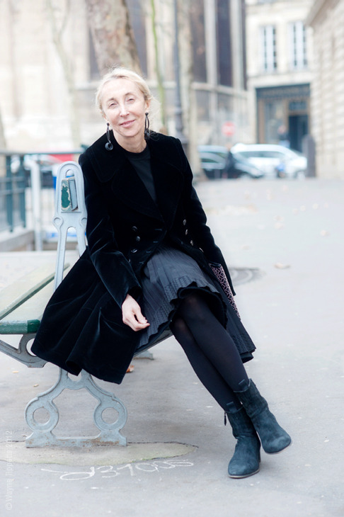(via Street Style Aesthetic » Blog Archive » Paris – Carla Sozzani)