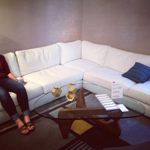 I'll own this sectional one day. One day. #dwr  (Taken with Instagram)