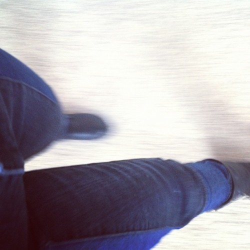 Walk, walk, fashion baby. (Taken with Instagram)