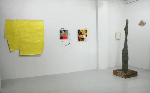 "nudashank:  Installation View from ""Primary"" @ Nudashank"
