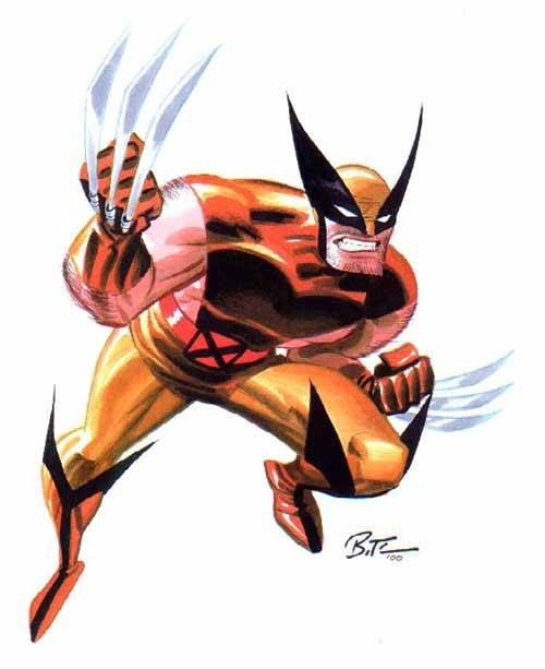 secretavenger22:  Wolverine artwork by Bruce Timm