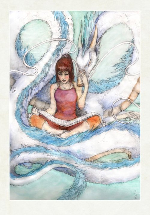 persephinae:  Spirited Away Storytime by *janey-jane