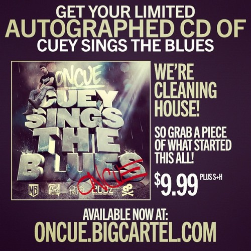 OnCue.bigcartel.con #rare autographed CSTB CD's available now  (Taken with Instagram)
