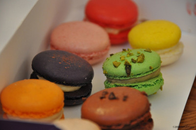 Macarons from Jin Patisserie by CurryPuffy on Flickr.