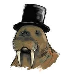 robbaz-kingofsweden:  asylumic:  silly walrus.  Robbaz would be proud