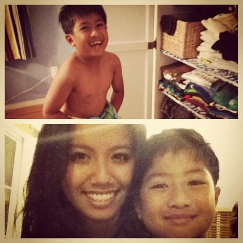Little cousin, Jerico. The baby of the family. 👦 (Taken with Instagram)