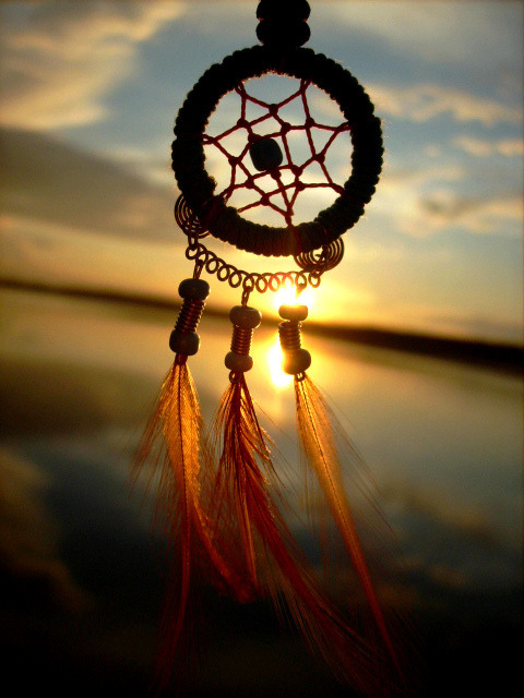 There is Deep Spiritual Symbolism in a Dream Catcher. Inbox me if you want me to explain.