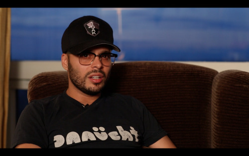 Screenshot from our interview with Richie Akiva, proud member of SKE crew.