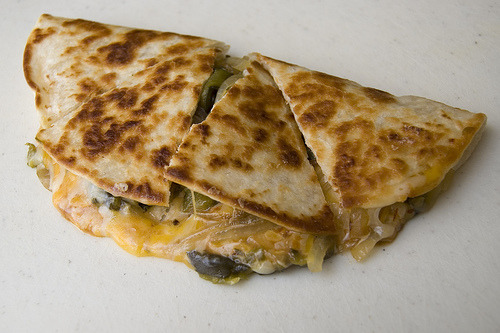 cravingsforfood:  Quesadillas.