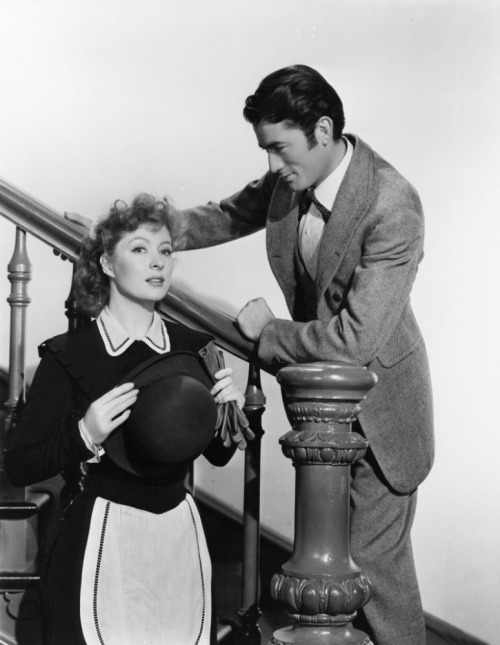 "Gregory Peck and Greer Garson in ""The Valley Of Decision"" (1945)"